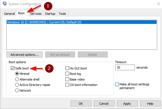 How to Start in Safe Mode in Windows 10 - Image 16