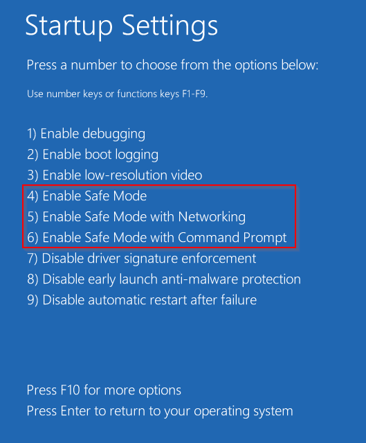How to Start in Safe Mode in Windows 10 - Image 5