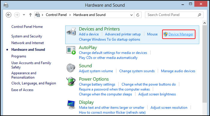 Download and Install Windows 8 Drivers with Device Manager
